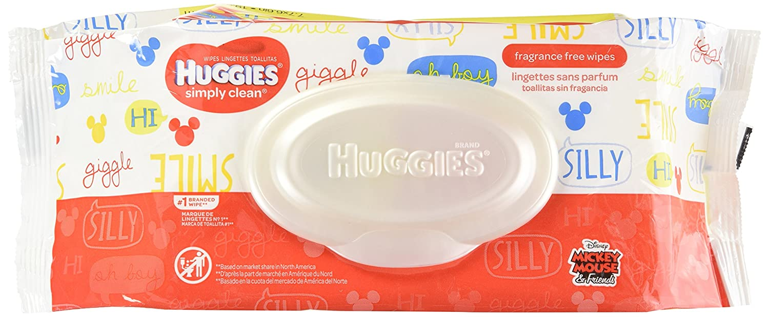 Huggies Simply Clean - Toallitas para bebé, 72 ct: Amazon.es: Industria, empresas y ciencia