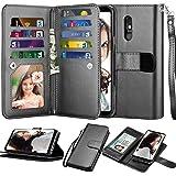NJJEX LG Stylo 5 Wallet Case, LG Stylo 5X Case, LG Stylo 5V/Stylo 5+ Plus Case, [9 Card Slots] PU Leather ID Credit…
