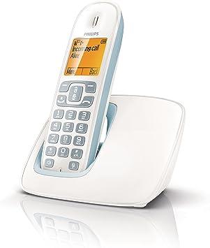 Philips Cd2901Ws23 - Teléfono digital (Inalambrico, Manos Libres, Identificador De Llamada, Digital, Mysound): Amazon.es: Electrónica