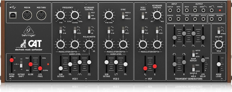 Behringer CAT Legendary Duophonic Analog Synthesizer
