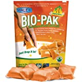 Walex BIOTROPBG Bio-Pak Natural Holding Tank Deodorizer and Waste Digester Drop-Ins, Tropical Breeze Scent (Pack of 10)