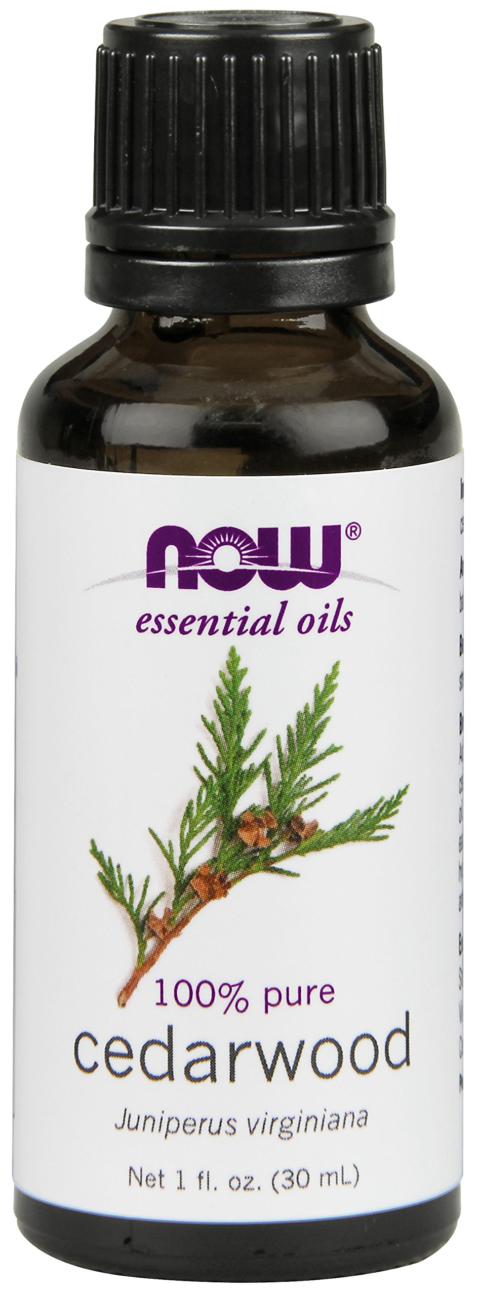 NOW Cedarwood Oil, 1-Ounce
