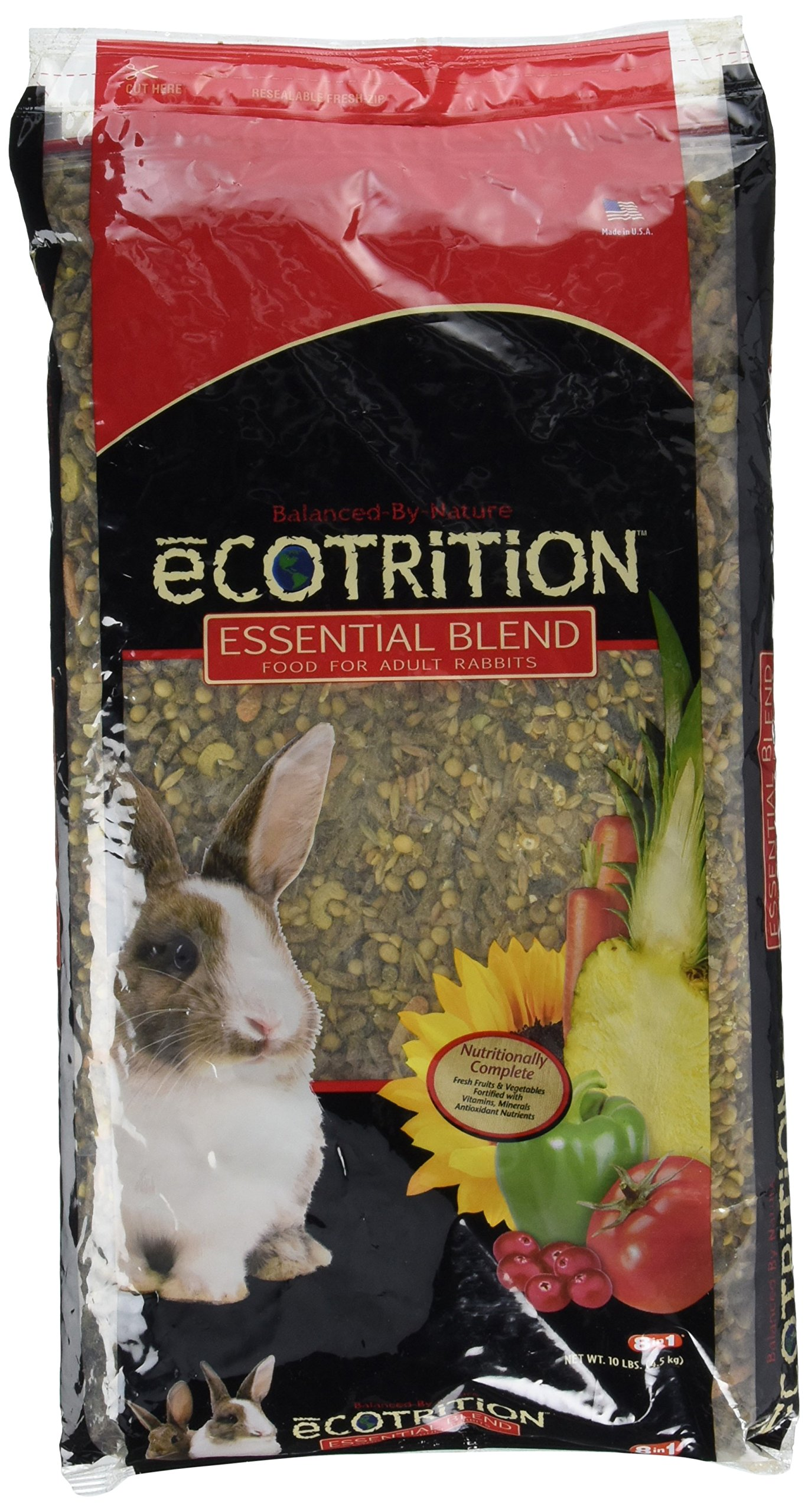 Ecotrition P-84123 Essential Blend For Rabbits, 10 Lb
