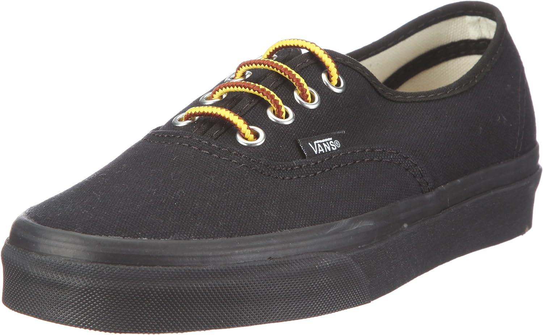 Amazon.com: Vans Authentic 10oz. Canvas Shoes - Black/Black - Size ...