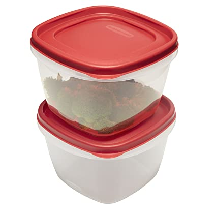 Amazoncom Rubbermaid Easy Find Lids Food Storage Containers 7 Cup
