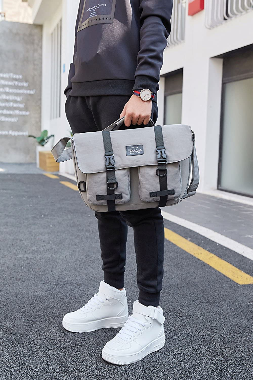 Hipster Messenger Briefcase Laptop bag The Dude