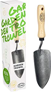 """Tierra Garden Dewit Forged """"Fantastic Four"""" Hand Trowel, Garden Tool for Roots and Planting, for Gardeners"""