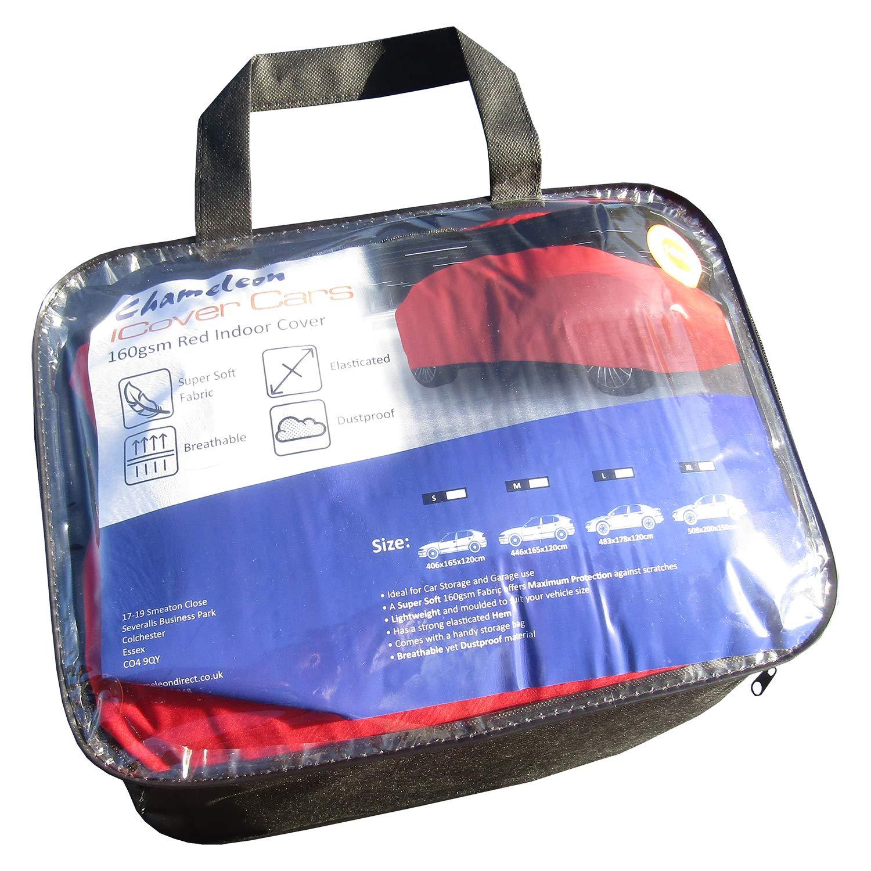ICover Telo copriauto per Interni Deluxe Traspirante 130 g//mq. Super Morbido