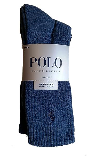 Polo Ralph Lauren Hombre Pack de 4 calcetines varios colores