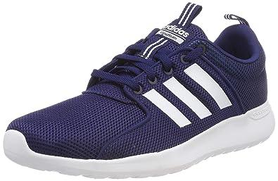 online retailer 4e8cc 72196 adidas CF Lite Racer, Chaussures de Running Homme, Multicolore  (DarkblueFtwwht