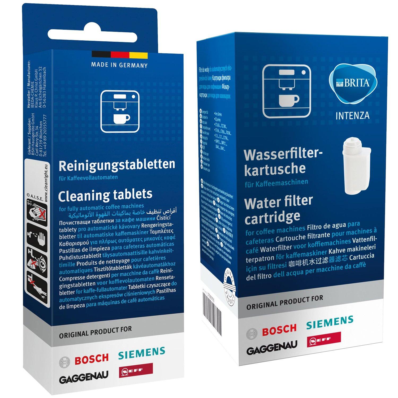 3x SIEMENS BOSCH tz70003 Brita Intenza Filtro acqua cartuccia filtro 17000705