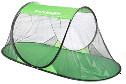 Image Unavailable  sc 1 st  Amazon.com & Amazon.com: SansBug 1-Person Free-Standing Pop-Up Mosquito-Net (Poly ...