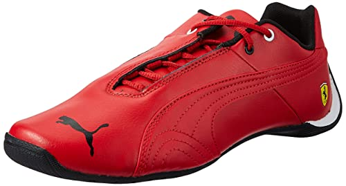 c3e5aea2560af Puma Boy s Future Cat SF Jr Rosso Corsa Leather Sneakers - 3 Kids UK India