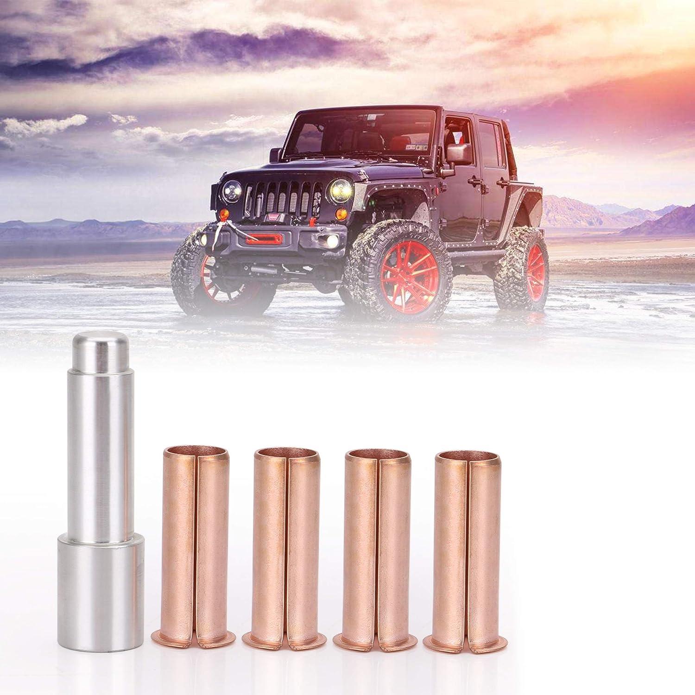 PACEWALKER Door Hinge Pin Liners Bushings Kit For Jeep CJ Wrangler Delrin Kentrol
