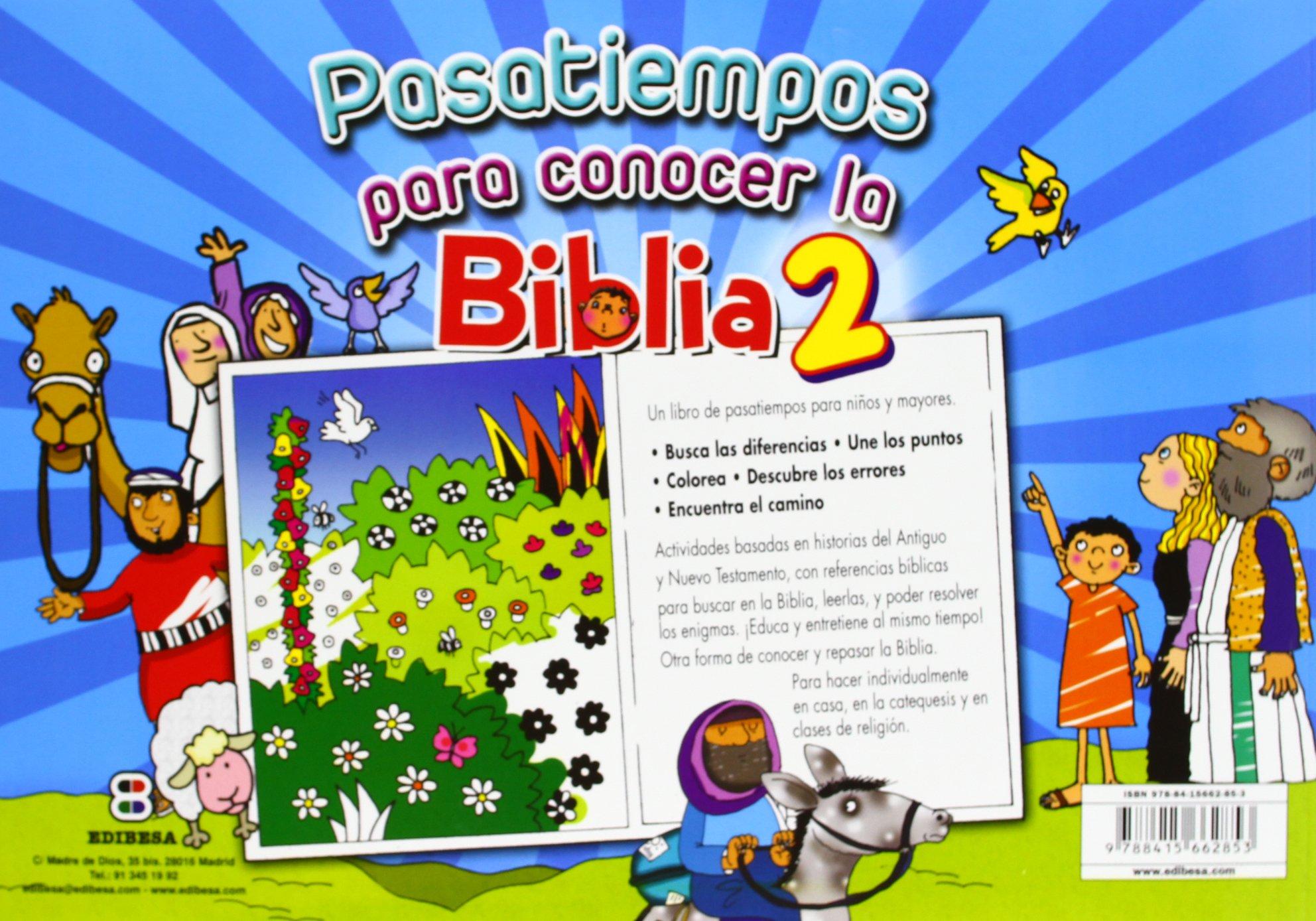Pasatiempos para conocer la Biblia 2 (ACTIVIDADES Y PASATIEMPOS ...