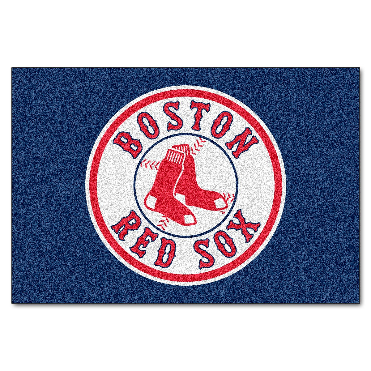 FANMATS MLB Boston Red Sox Nylon Face Starter Rug 6335