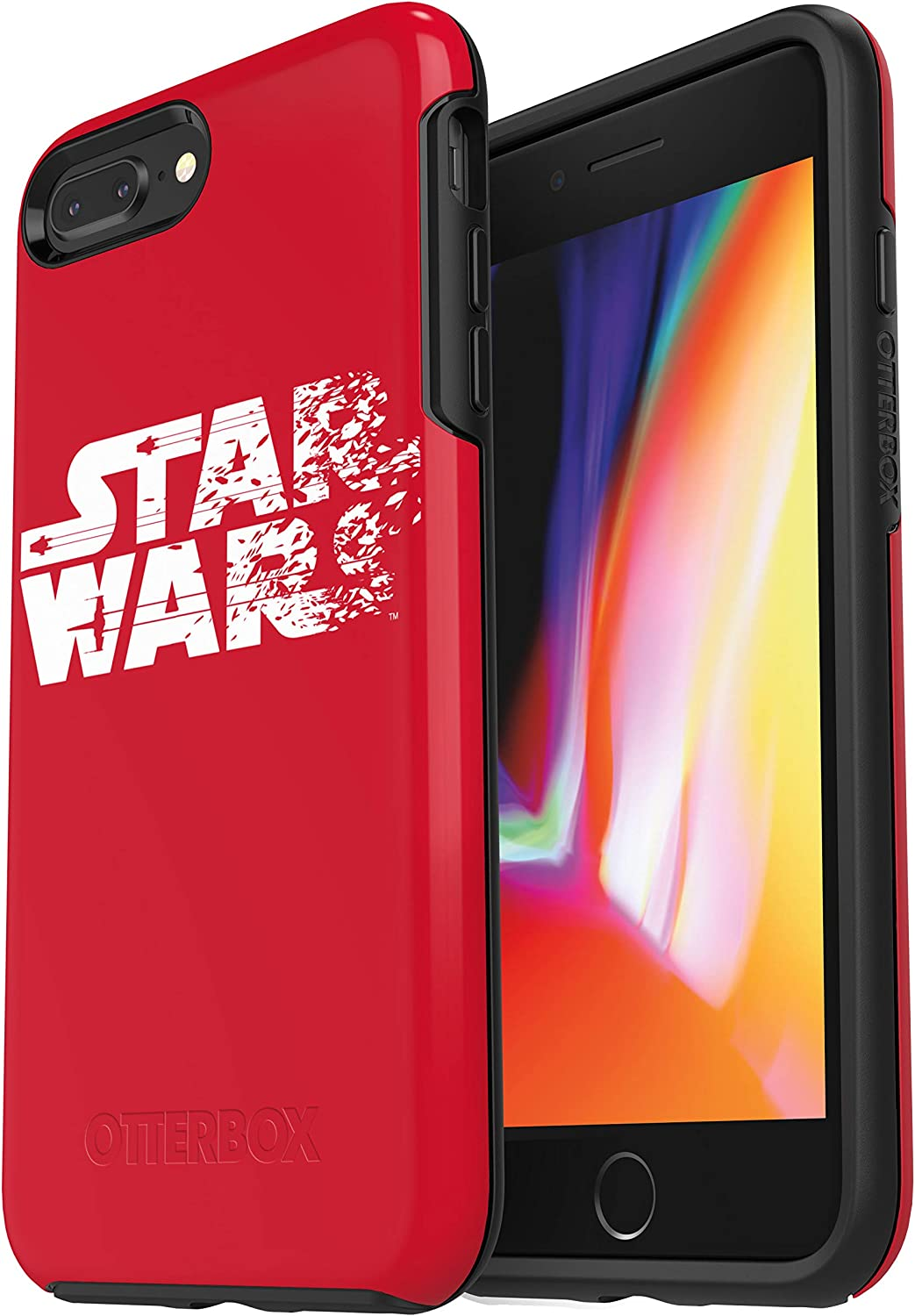 OtterBox SYMMETRY SERIES STAR WARS Case for iPhone 8 PLUS & iPhone 7 PLUS (ONLY) Resistance Red