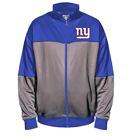 NFL New York Giants Unisex poliéster Forro Polar Chaqueta de ...