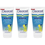 Clearasil Daily Clear Hydra-blast Oil-Free Sensitive Acne Face Wash, 6.5 Oz (Pack of 3)