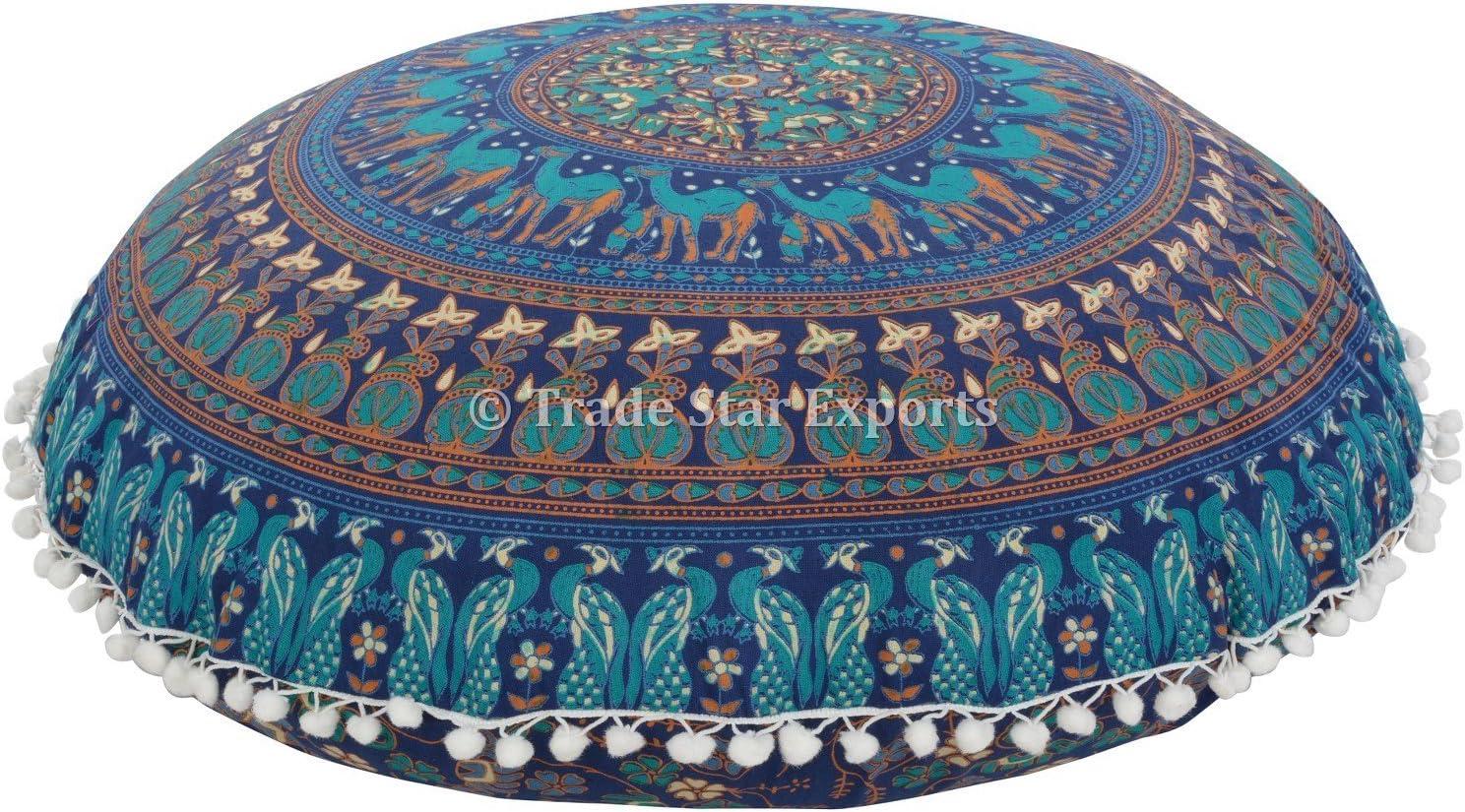 Mandala Floor Pillow Cover