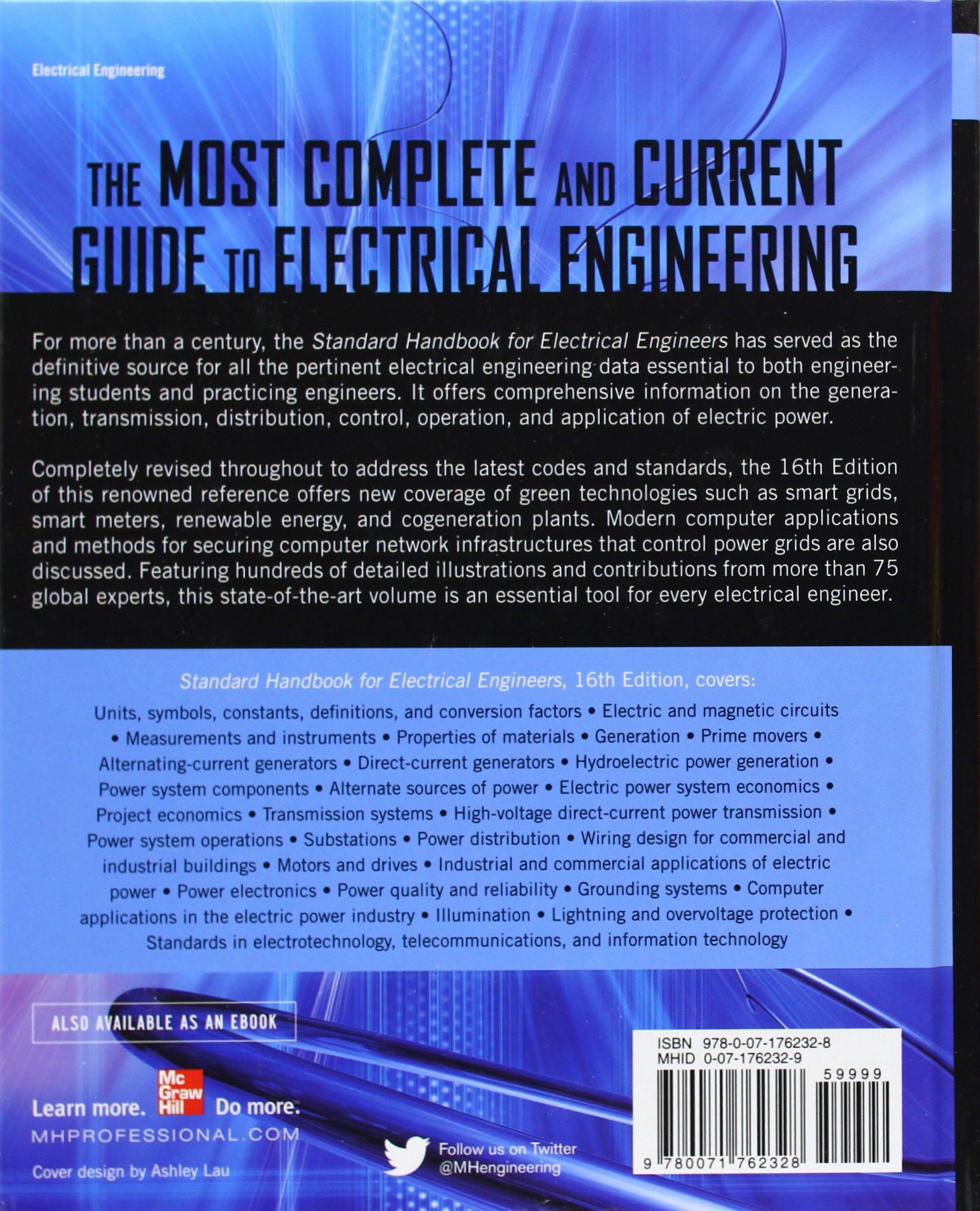 Standard Handbook For Electrical Engineers Sixteenth Edition Pdf