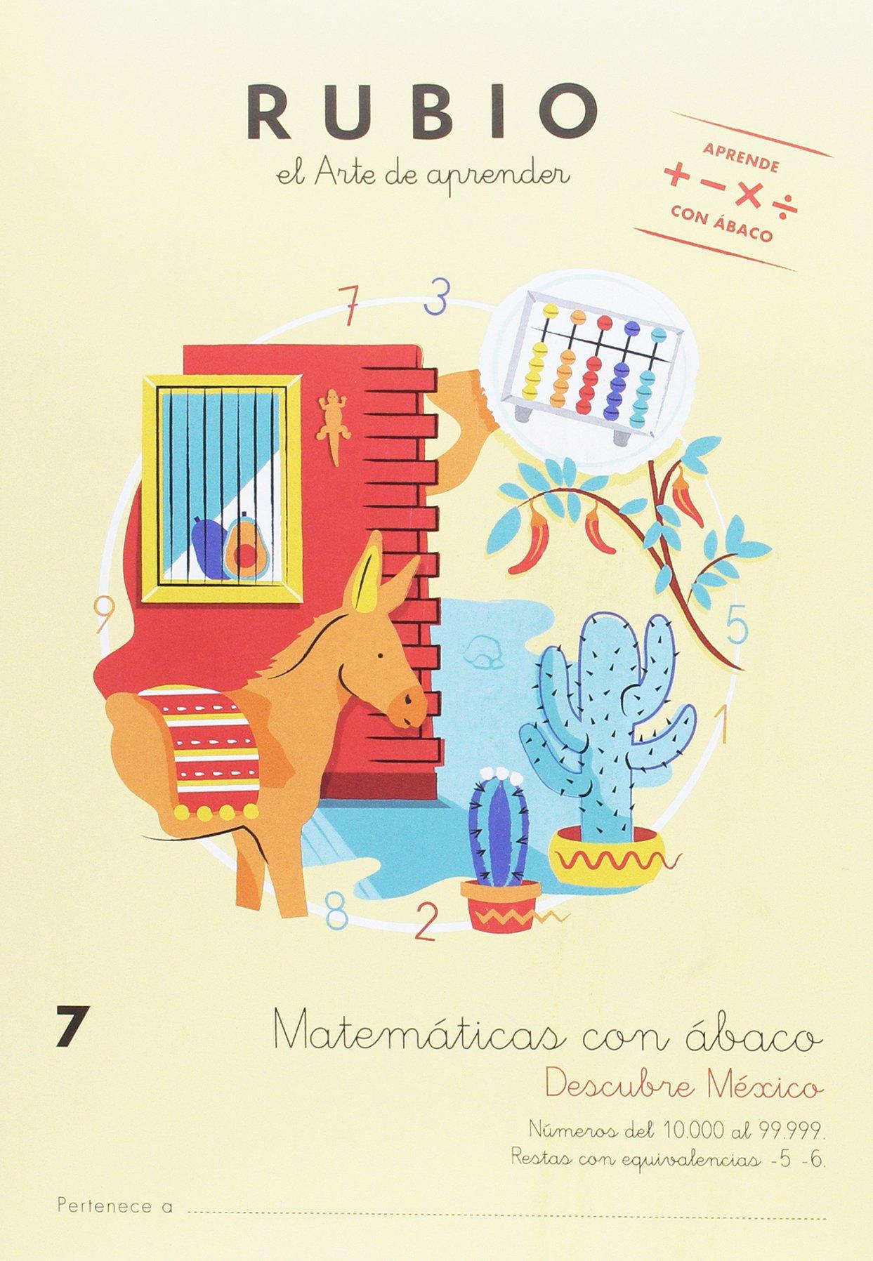 Matemáticas con ábaco 7. Descubre México: Amazon.es: ENRIQUE RUBIO ...