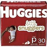 Baby Diapers Size Preemie, 30 Ct, Huggies Little Snugglers