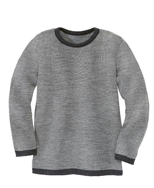 20c125703a Disana 31302 X X – Melange di Maglione di Lana Blu
