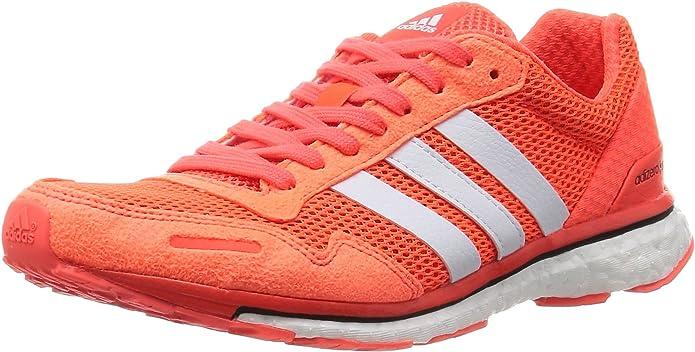 adidas Adizero Adios 3 W, Zapatillas de Running para Mujer, Naranja (Solar Red/FTWR White/Core Black), 43 1/3 EU: Amazon.es: Zapatos y complementos