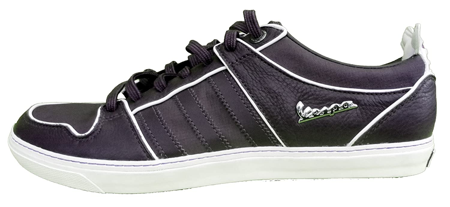 49f03d930851f8 Adidas Originals Vespa GS ll Low Mens Leather Trainers in navy (7 UK)   Amazon.co.uk  Shoes   Bags