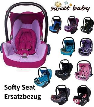 Sweet Baby Softy Protect Cabriofix Kuschelig Weicher Und Dick Gepolsterter Ersatzbezug Für Maxi Cosi Cabriofix Lila Bordeaux Baby