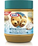 KRAFT Peanut Butter, All Natural Sea Salt, 750g