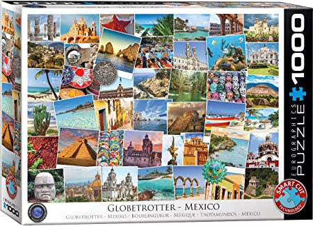 Eurographics 6000-0761 Puzzle Globetrotter sur la Plage 1000 pieces