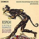 Respighi:Sinfonia Drammatica [Orchestre Philharmonique Royal de Liège, John Neschling] [BIS: BIS2210]