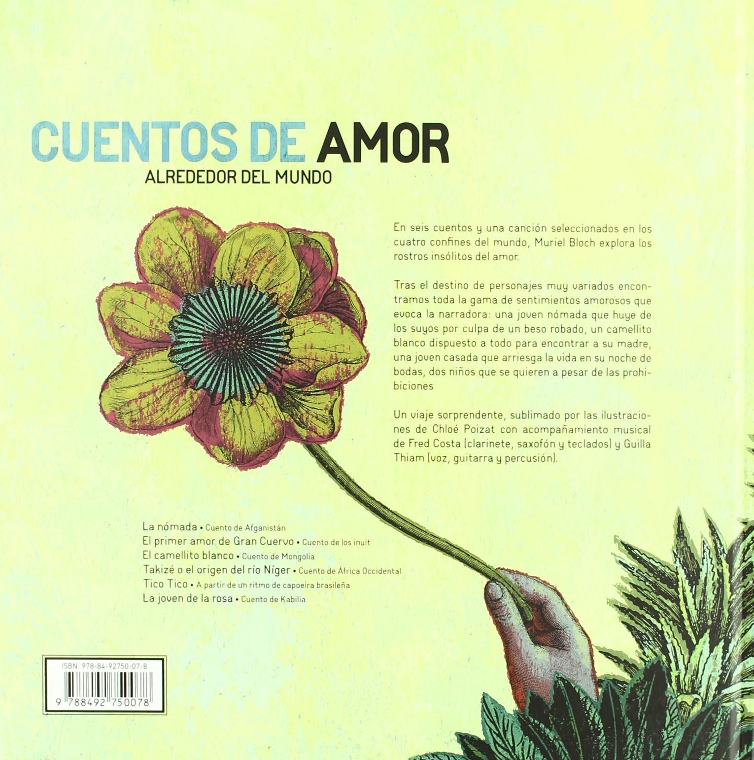 Cuentos de amor alrededor del mundo (Spanish Edition): Muriel Bloch: 9788492750078: Amazon.com: Books