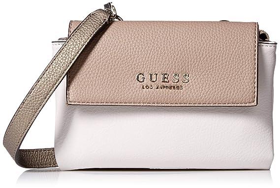 be9966243 GUESS Heidi Pewter Mini Crossbody Flap, Multi: Handbags: Amazon.com