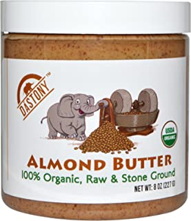 product image for Dastony 100% Organic Almond Butter 8 oz (227 g)