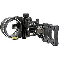 Axcel 5 Pin .010 Fiber Armortech HD Hunting Sight (Black)