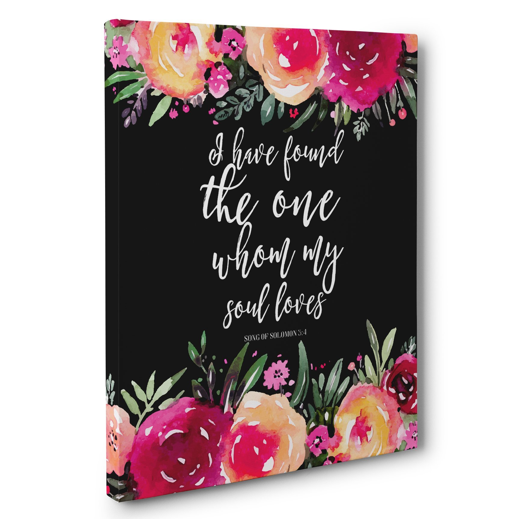 I Have Found The One Whom My Soul Loves Canvas Wall Art