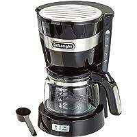 De'Longhi 意大利德龙 美式滴滤咖啡机 ICM 14011 (eco节能系统/ 根据个人口味调节咖啡浓度/ 耐热玻璃材质咖啡壶/ 可拆卸滤网 无需滤纸)