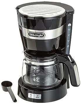DeLonghi ICM 14011 Cafetera Semi-automática, Independiente, Goteo, de café molido,