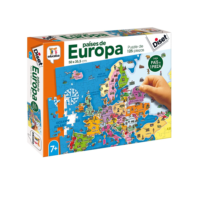 68947 /Giocattolo educativos paises di Europa Diset/