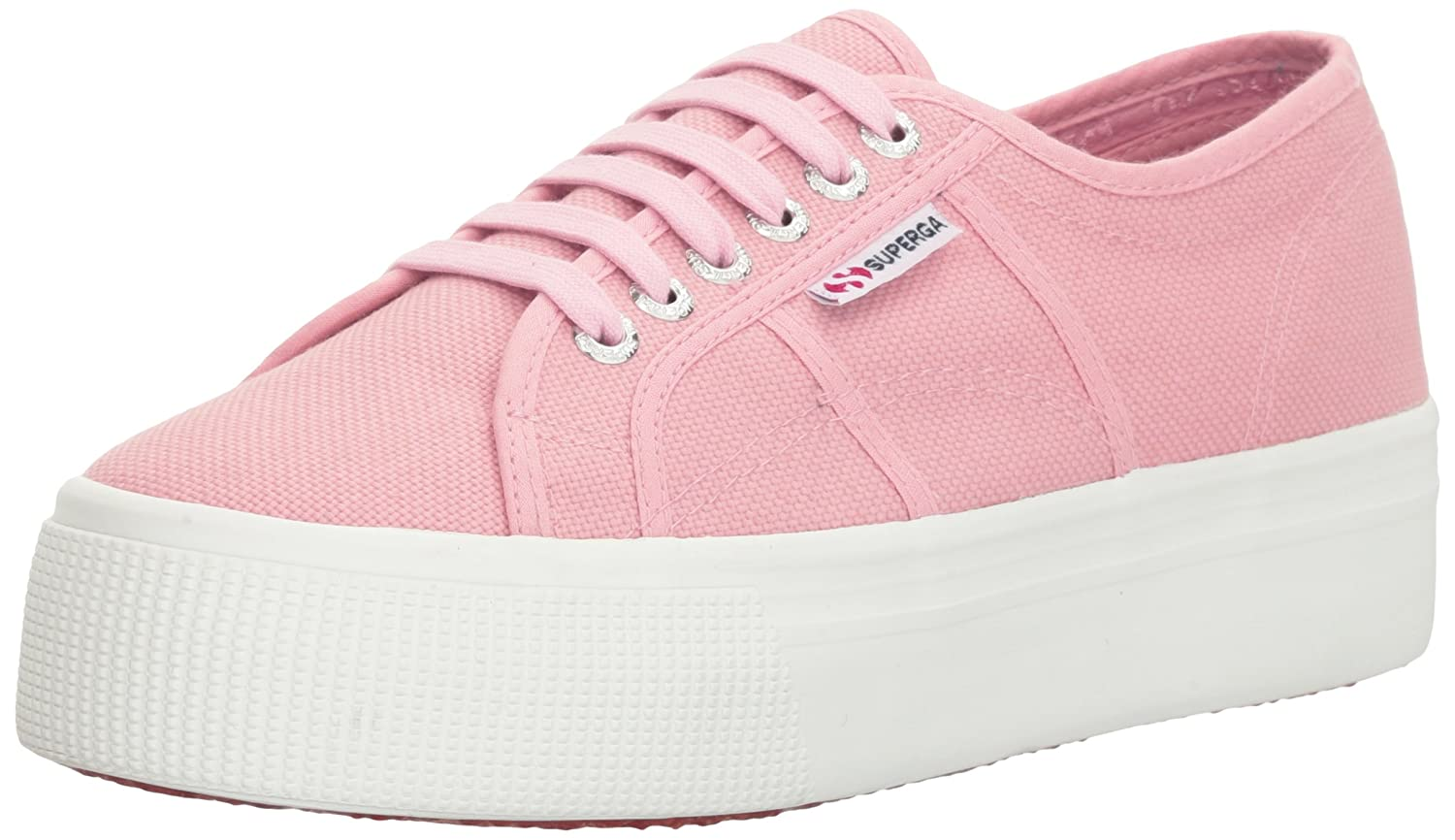 Superga Acotw Linea Up And Down Turnschuhe Leinwand Turnschuhe Down Hellrosa f2b112
