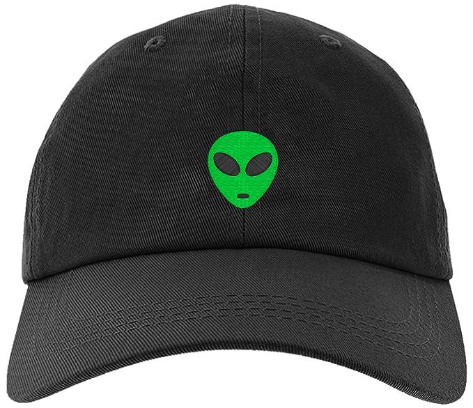 73e4cdc305c Amazon.com  Cap Embroidered Green Alien Cap