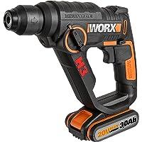 Worx WX390.31 Martello Pneumatico H3-3 in 1, 20 V, Nero/Arancione