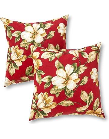 Amazon Com Decorative Pillows Patio Lawn Garden