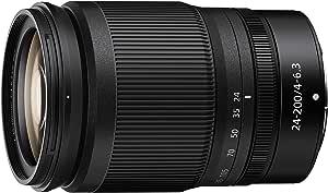 Nikon JMA710DA 24-200mm f/4-6.3 VR S Lens, Black