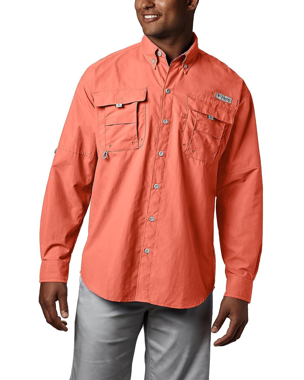 03122bfb619 Amazon.com : Columbia Men's PFG Bahama II Long Sleeve Breathable Fishing  Shirt : Athletic Shirts : Clothing