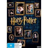 Amazon Com Harry Potter Complete Collection Usa Non Compatible Product Region 2 Movies Tv