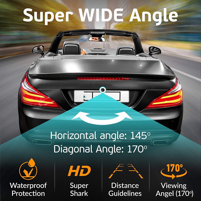 CDI//CLS300 W251 NTSC for Mercedes Benz GL450//R300L//R350L//R350//R280 Misayaee Rear View Back Up Reverse Parking Camera in License Plate Lighting Night Version